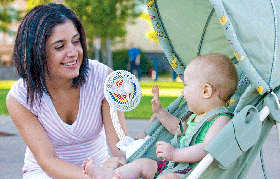 10 Best Stroller Fan for Baby Summer Outing (2020 Updated)